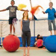Séance découverte cirque, jonglage et équilibre