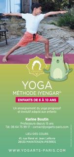 Yogarts dispense des cours de yoga pour enfants