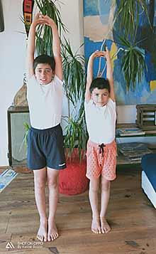 Rentrée 2019/2020, un cours de yoga pour les enfants