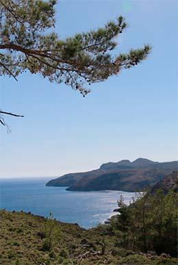 Stage yoga en Crète, du lundi 24 au lundi 31 août 2020 - Vue sur mer